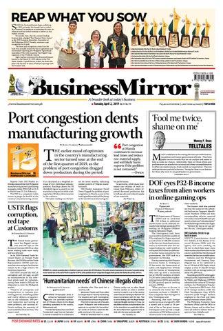 BusinessMirror April 02, 2019 by BusinessMirror - issuu