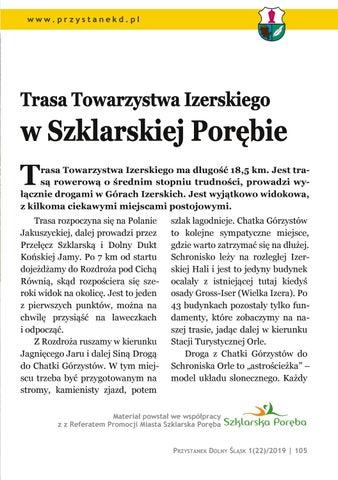 Page 105 of Wycieczki i spacery: Trasa Towarzystwa Izerskiego w Szklarskiej Porębie