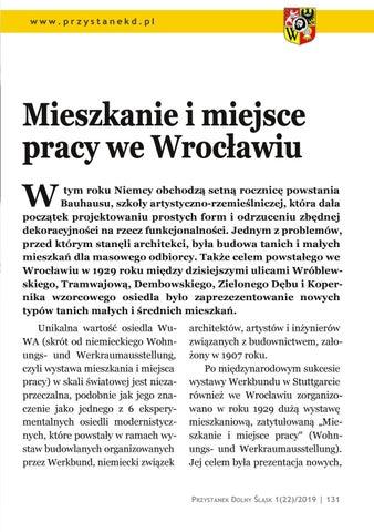 Page 131 of Mieszkanie i miejsce pracy: Mieszkanie i miejsce pracy we Wrocławiu