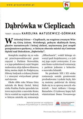 Page 23 of Przystanek Uzdrowisko: Dąbrówka w Cieplicach