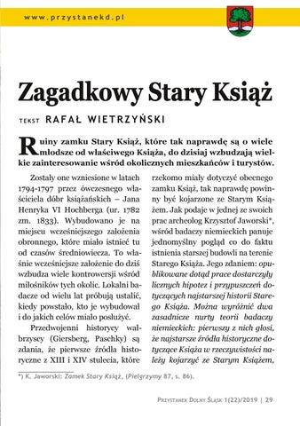 Page 29 of Ludzie i miejsca: Zagadkowy Stary Książ