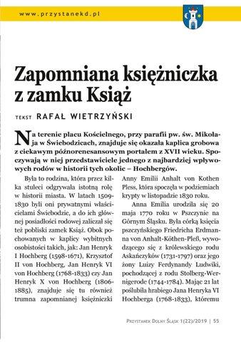 Page 55 of Ludzie i miejsca: Zapomniana księżniczka z zamku Książ