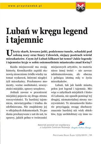 Page 59 of Ludzie i miejsca: Lubań w kręgu legend i tajemnic