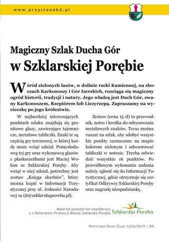 Page 89 of Wycieczki i spacery: Magiczny Szlak Ducha Gór w Szklarskiej Porębie