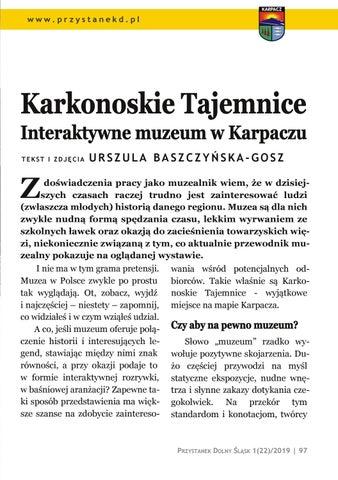 Page 97 of Wycieczki i spacery: Karkonoskie Tajemnice. Interaktywne muzeum w Karpaczu