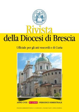 Calendario Romano Preti 2019.Rivista Della Diocesi 01 2019 By Diocesi Di Brescia Issuu