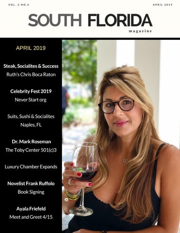 Ayala Friefeld to attend Steak, Socialites and Success on April 15th