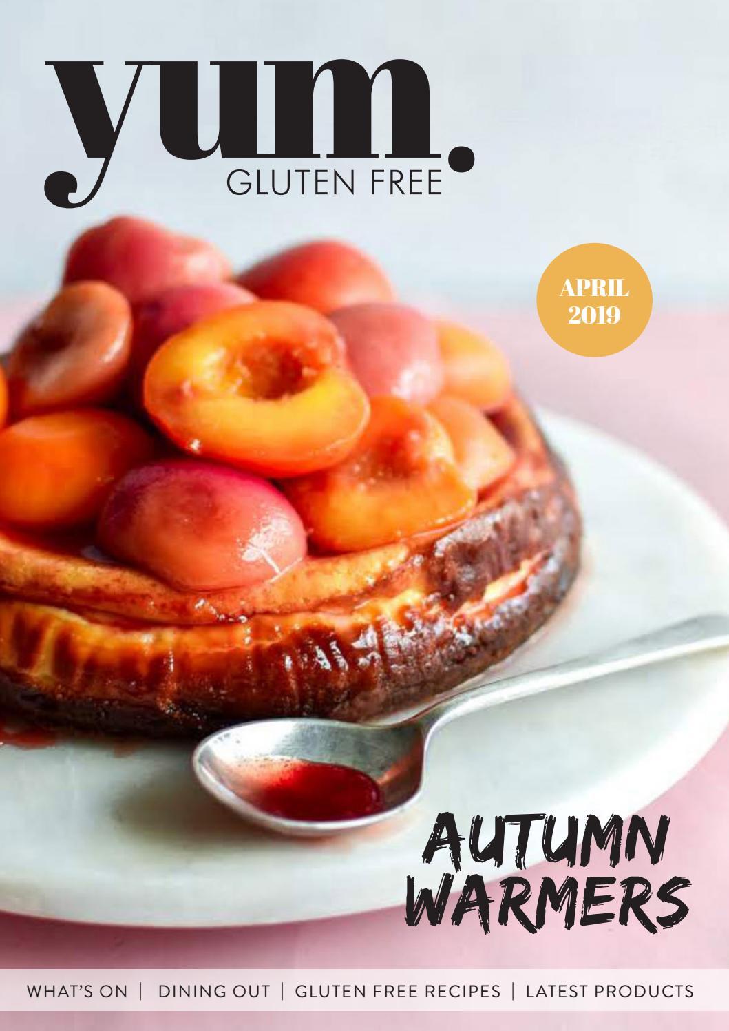 Yum Gluten Free Magazine Autumn 2019 By Yum Gluten Free