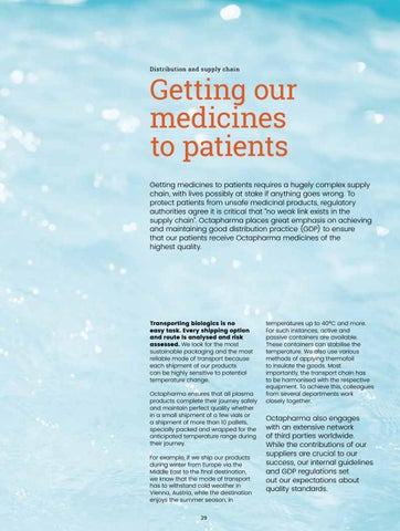 Page 31 of Getting our medicines to patients