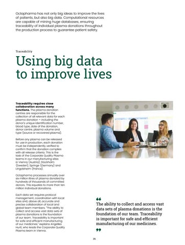 Page 37 of Using big data to improve lives