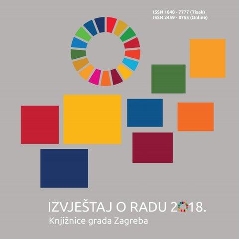 Izvjestaj O Radu 2018 Knjiznica Grada Zagreba By Knjiznice Grada