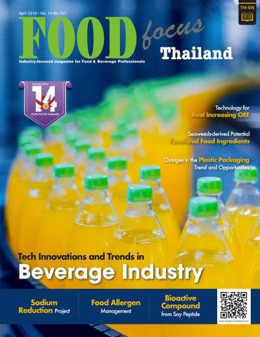 Food Focus Thailand April 2019 by Food Focus Thailand - issuu