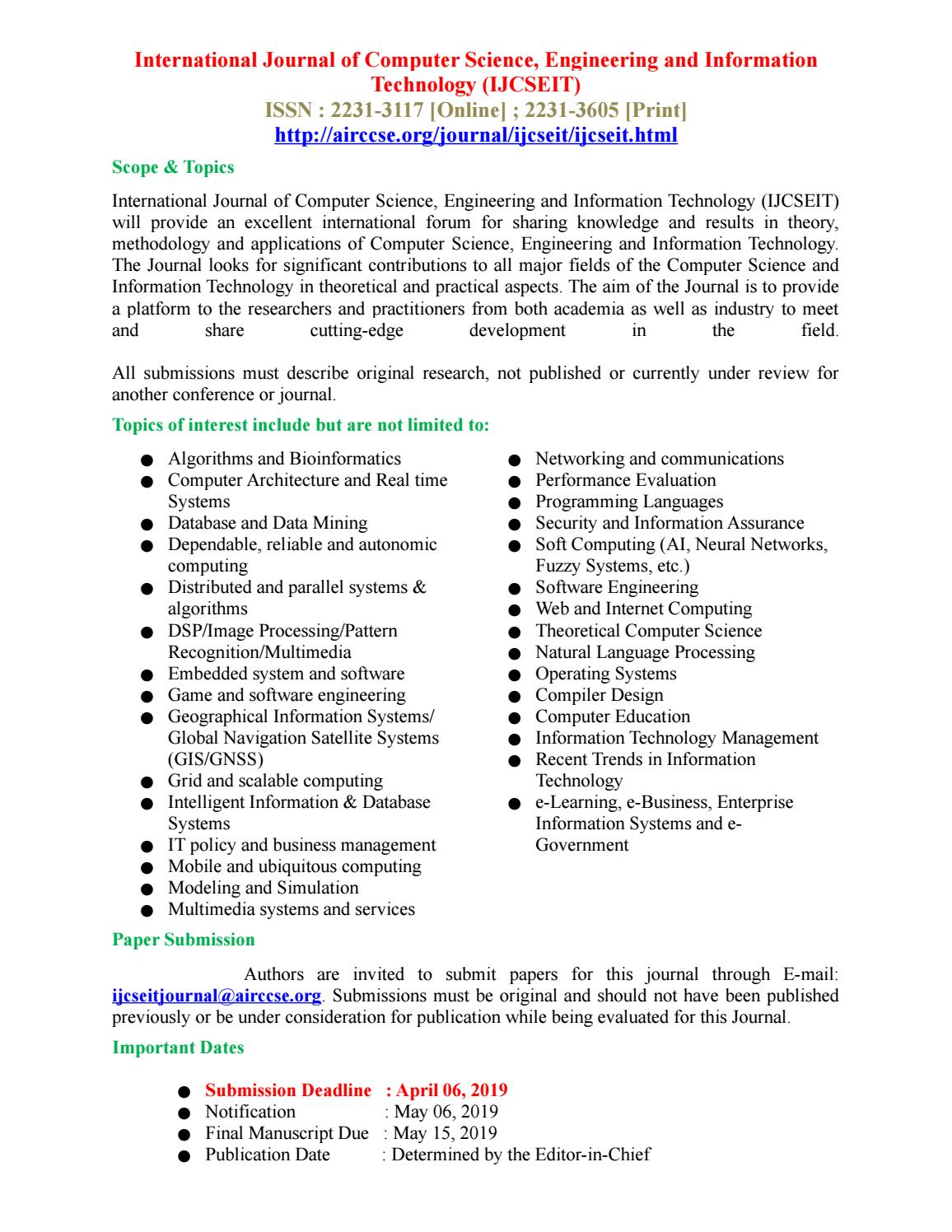 Computer information systems research paper topics sheet metal cover letter examples