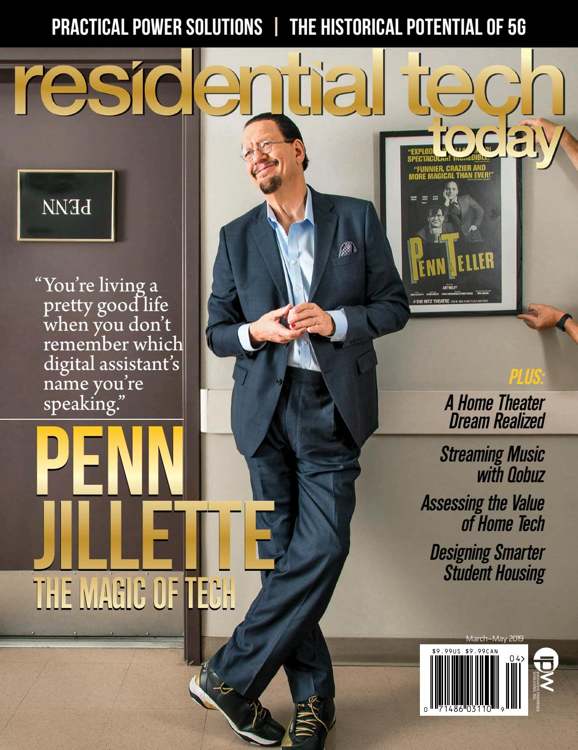Residential Tech Today March-May 2019 by Innovation & Tech