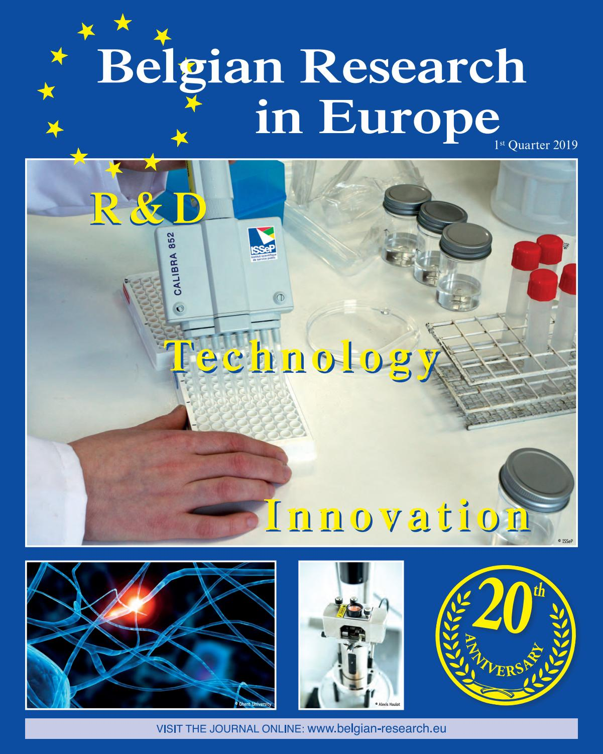 Belgian Research in Europe by Offset5 - issuu