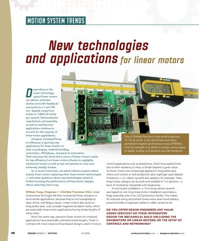 Page 50 of Motors - Linear