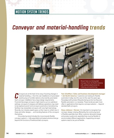 Page 76 of Conveyors