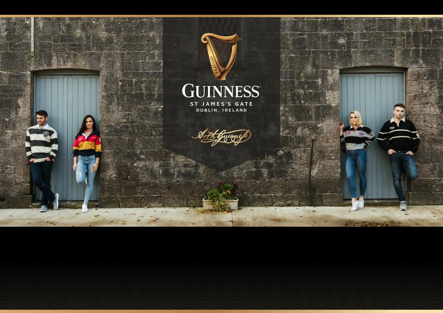 Guinness Beer Irish Ireland Black and Gold Hooded Hockey Shirt Jersey New
