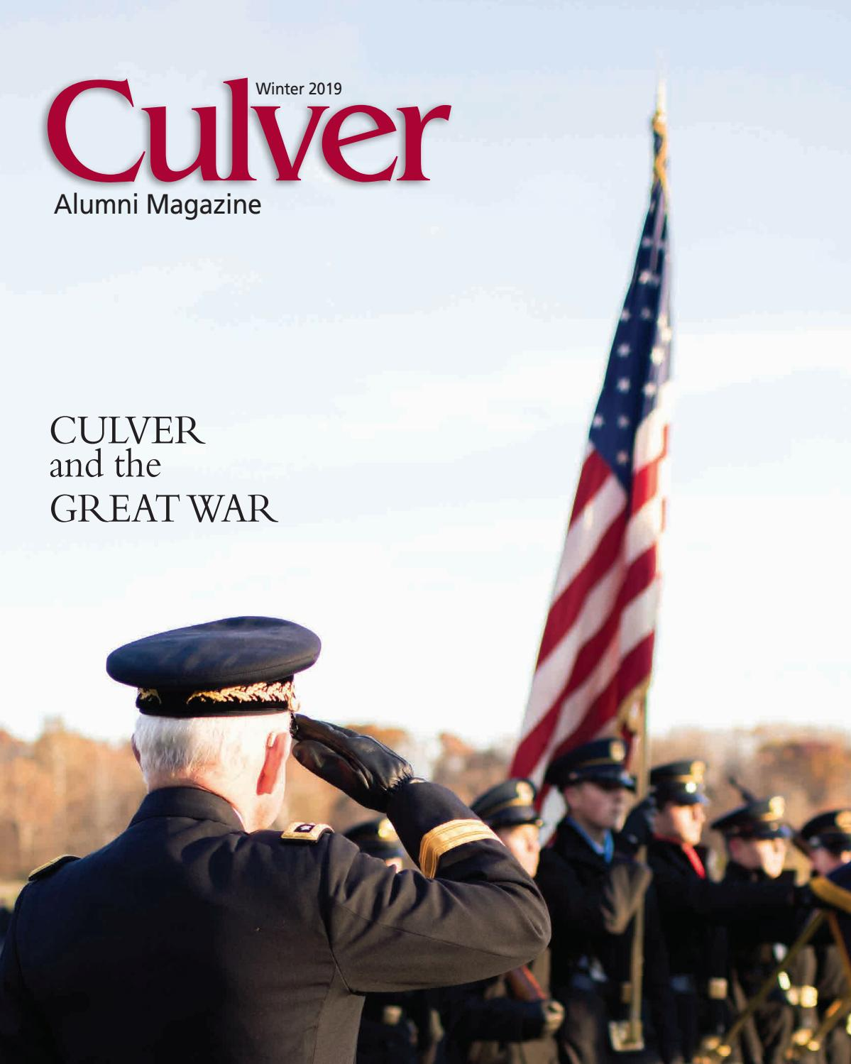 AMAG Winter 2019 by Culver Academies - issuu