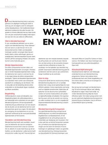 Page 4 of Blended learning: Wat, hoe en waarom?