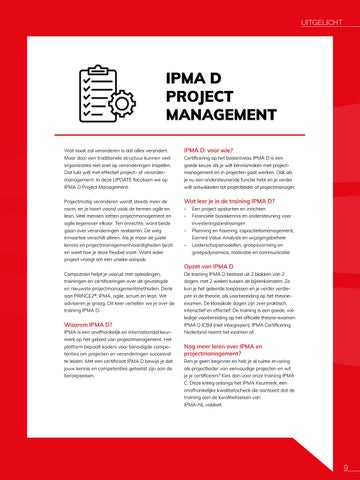 Page 9 of IPMA D Project management