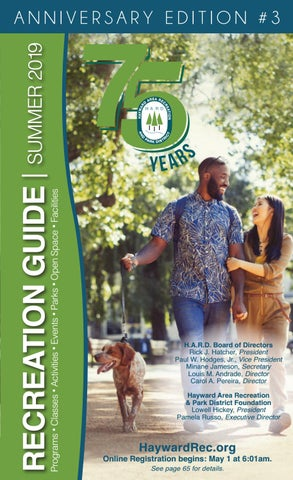 a3055cb37776 Hayward Area Recreation and Park District's Summer Recreation Guide ...