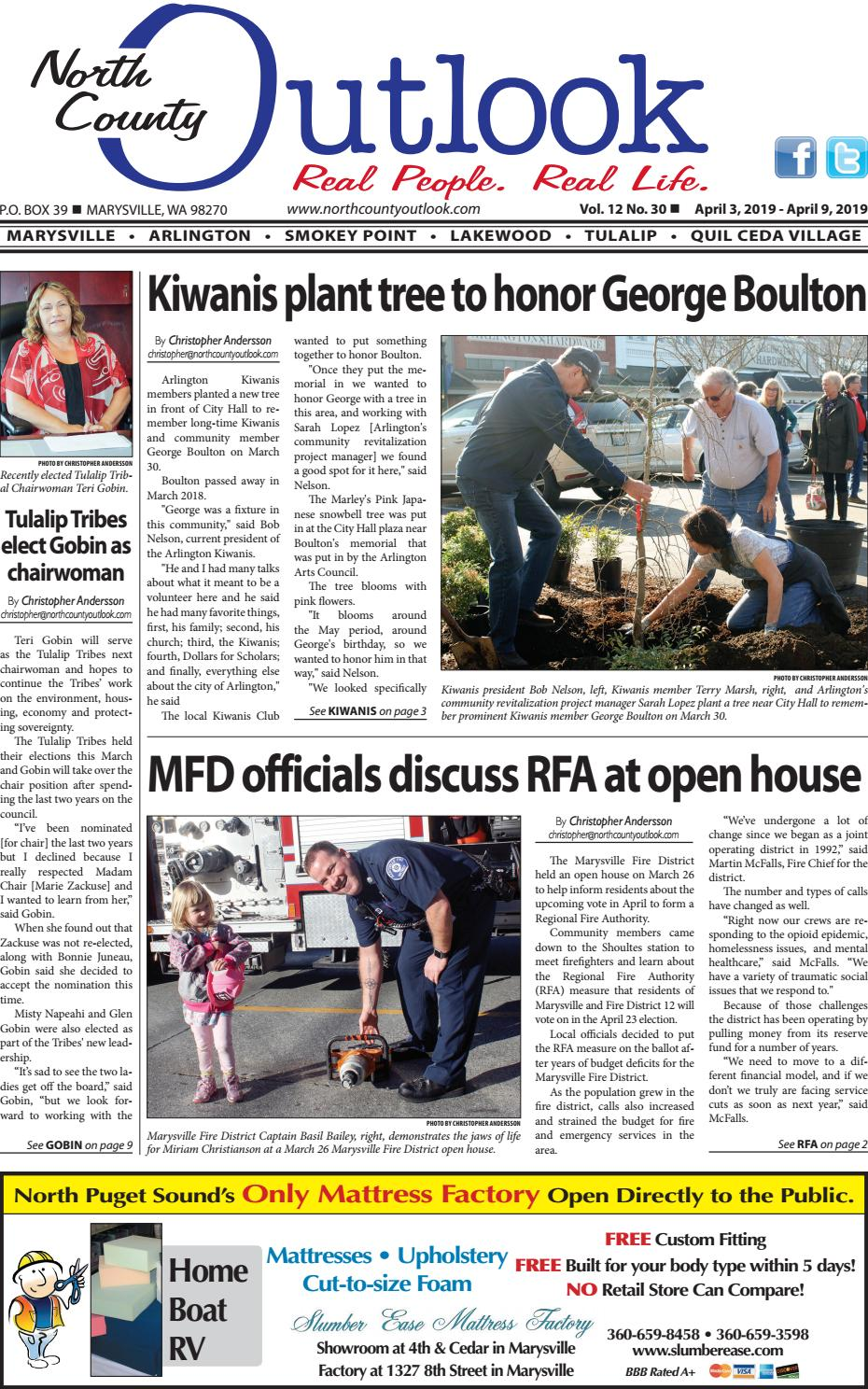 April 3, 2019 North County Outlook by The North County