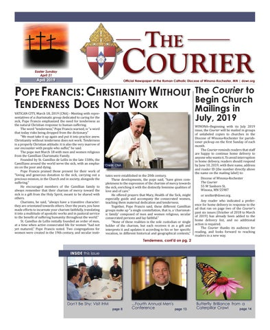 The Courier - April 2019 by Diocese of Winona-Rochester - issuu