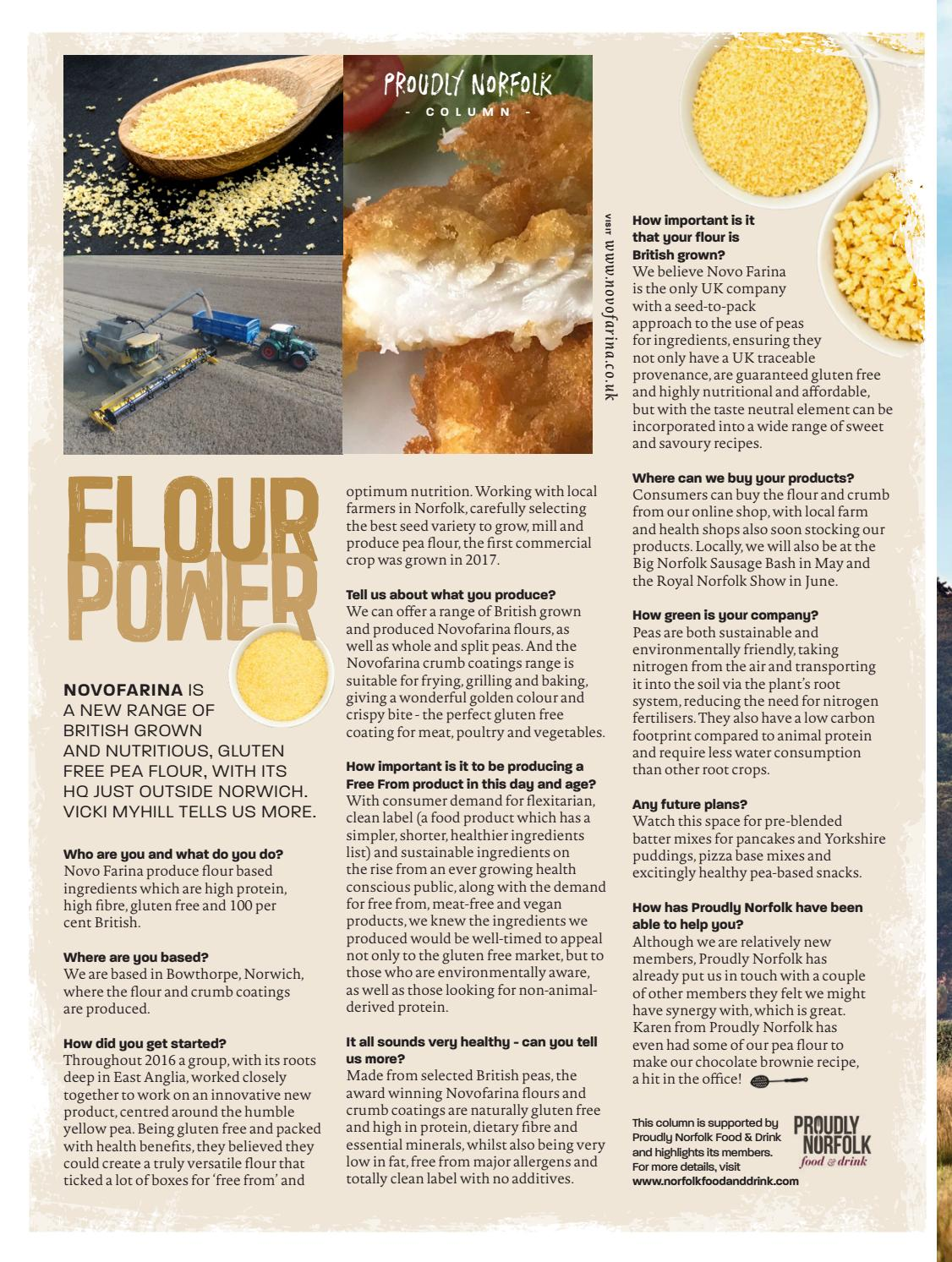 Feast Norfolk Magazine - Issue 35 April 2019 by Feast