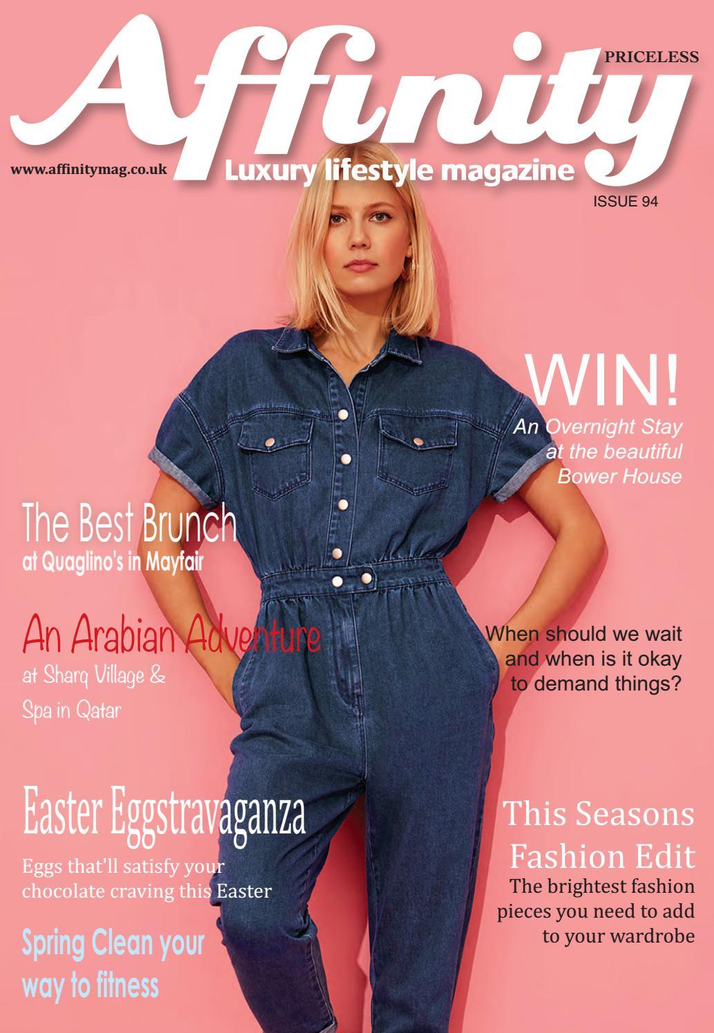 8a3d057de824 Affinity Luxury Lifestyle Magazine April 2019 by jane fry - issuu