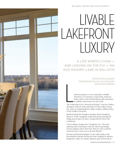 Page 73 of Livable Lakefront Luxury