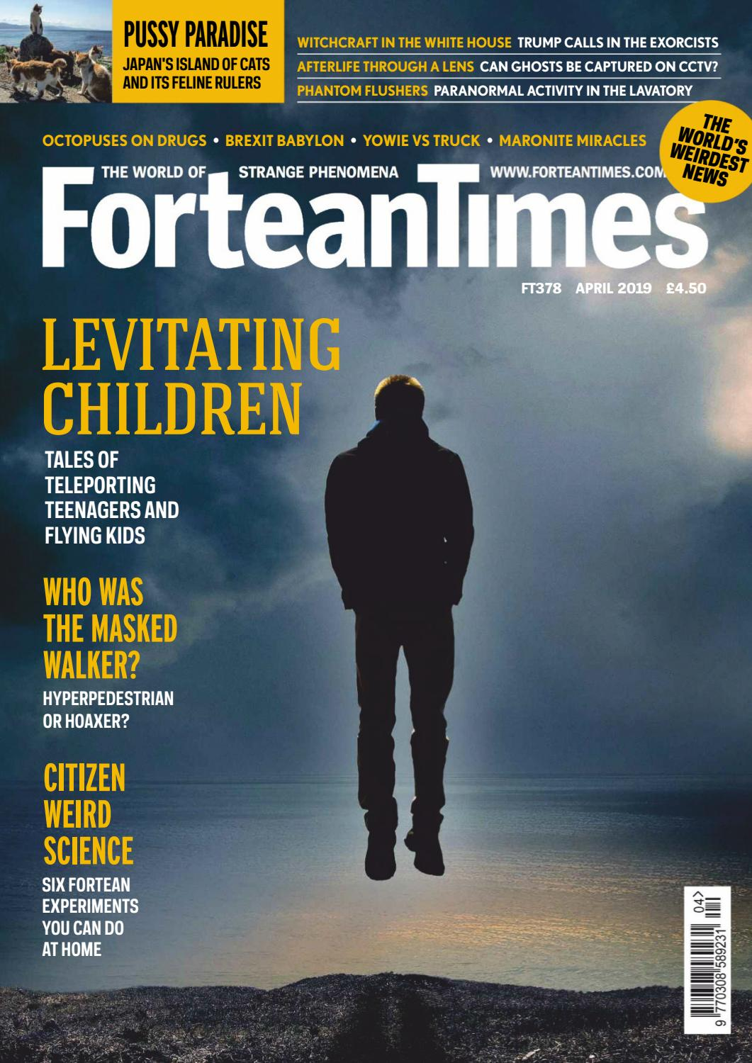 Fortean Times – Issue 378, April 2019 by Carlos Rodriguez