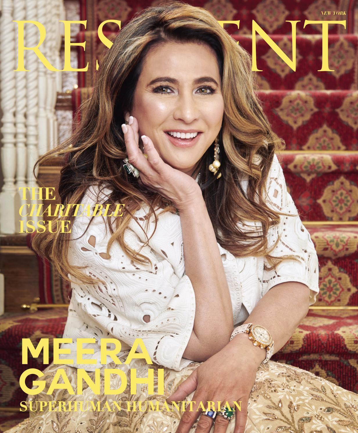 234233e0c27 Resident Magazine NY APRIL 2019 MEERA GANDHI by Resident Magazine - issuu