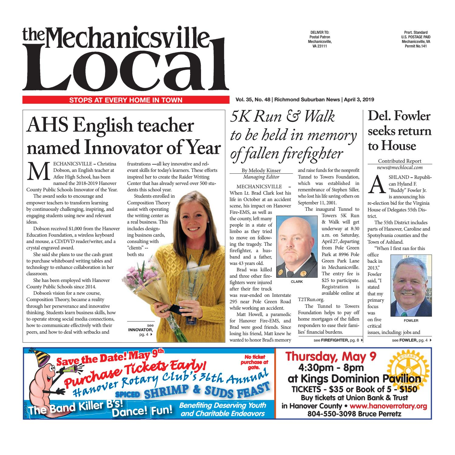 04/3/19 by The Mechanicsville Local - issuu