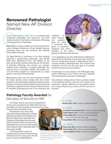 Page 5 of Renowned Pathologist Named New AP Division Director