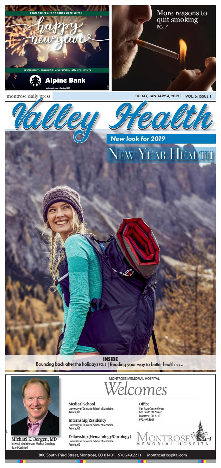 Valley Health Jan  2019 by Wick Communications - issuu