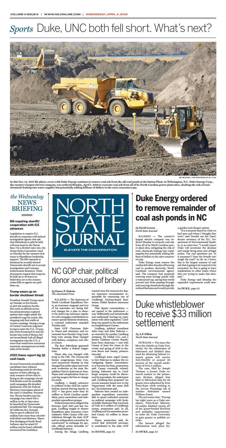 NSJ Vol  3, Issue 6 by North State Journal - issuu