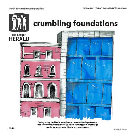 Why Blue Eyed Wisconsinites Tended To >> Crumbling Foundations Volume 50 Issue 25 By The Badger Herald