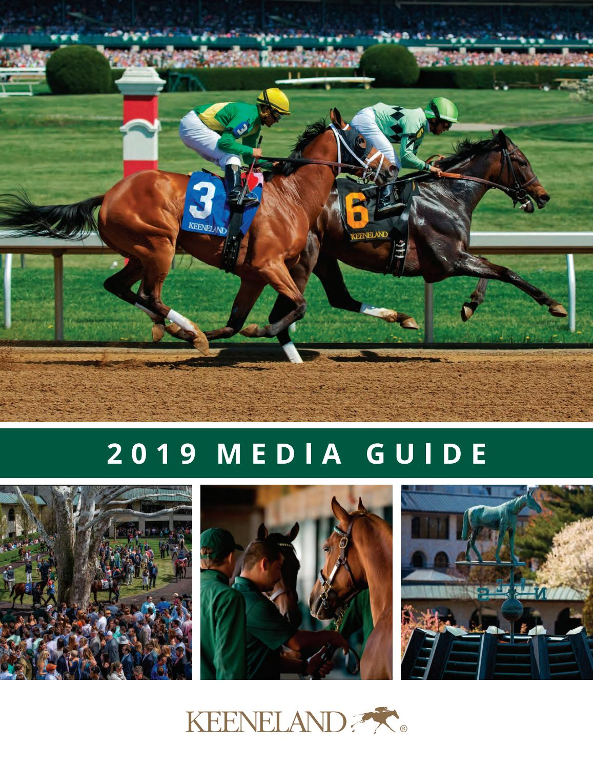 8b718e4a61ad0 2019 Keeneland Media Guide by Keeneland - issuu