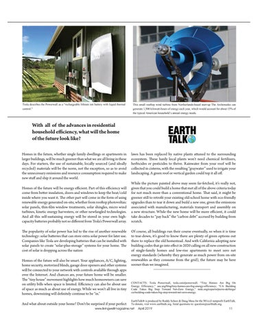 Page 11 of Residential Homes of the Future