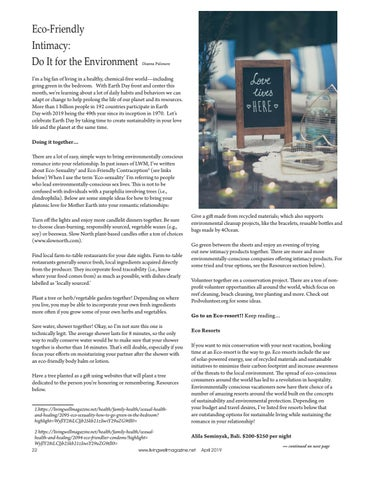Page 22 of Eco Friendly Intimacy: Do it for the Environment