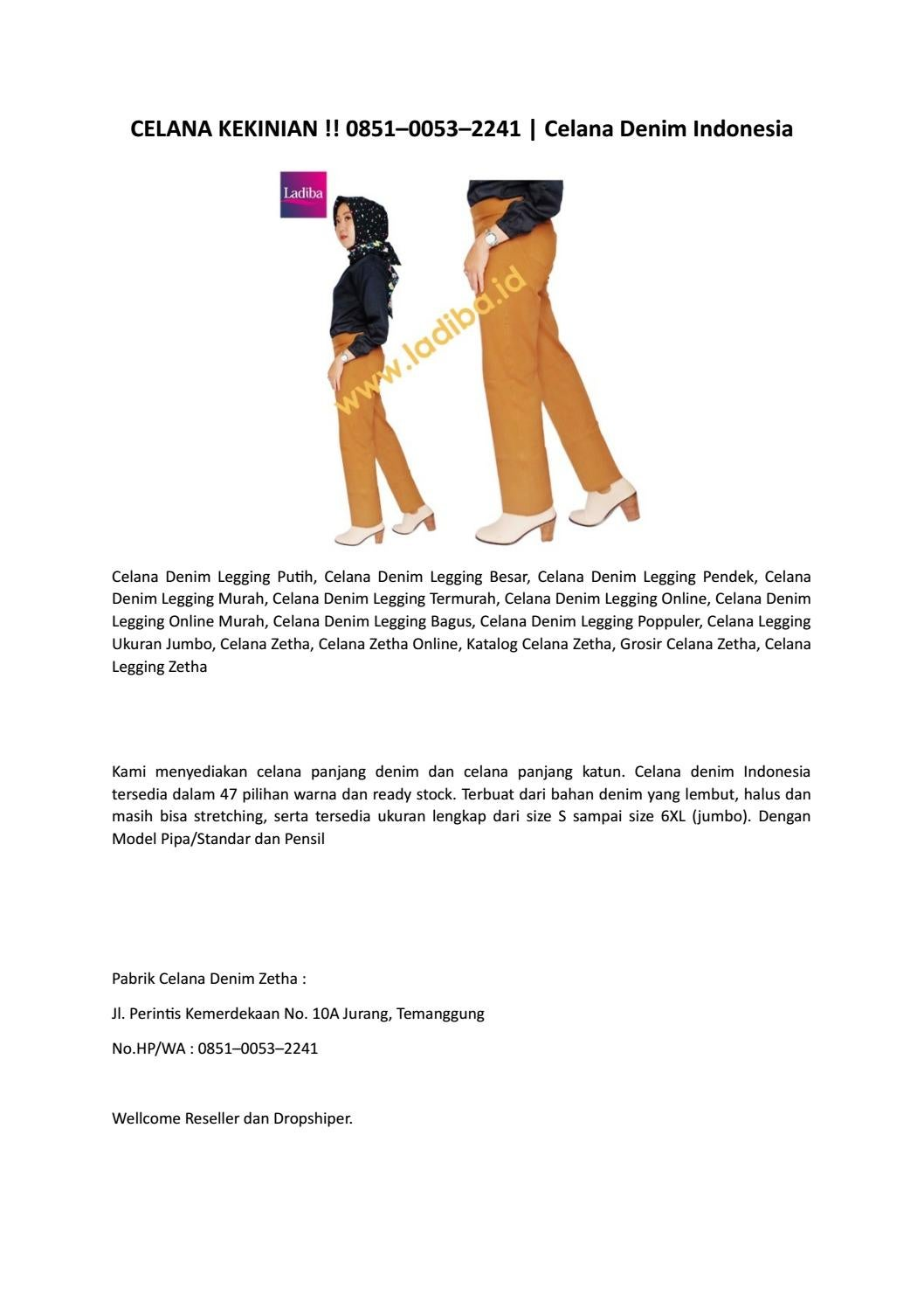 Celana Kekinian 0851 0053 2241 Celana Denim Indonesia By Celana Denim Wanita 0851 0053 2241 Issuu