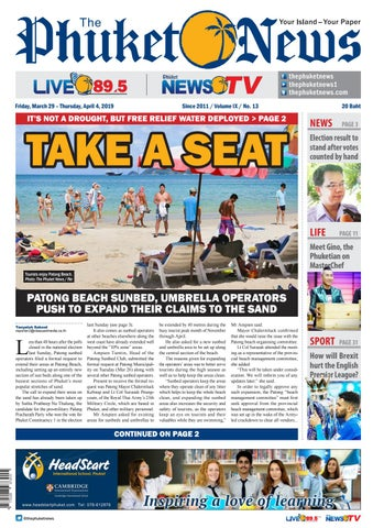 The Phuket News 29 March 2019 by The Phuket News - issuu