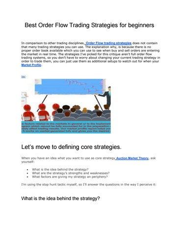 Best Order Flow Trading Strategies for beginners by Vtrender