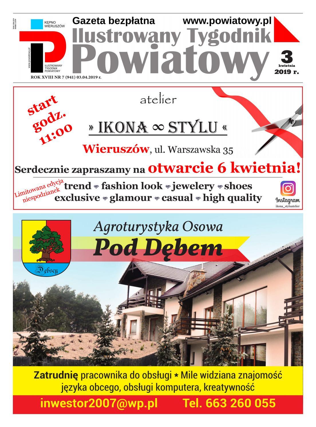 69ad98bff6a73 Ilustrowany Tygodnik Powiatowy 03.04.2019 r. by powiatowy.pl - issuu