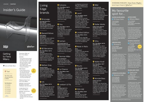 Living Edge Milan Tour Guide By Livingedge1 Issuu