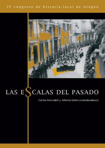 03983a5fd439 Las escalas del pasado. Actas del IV Congreso de Historia Local de ...