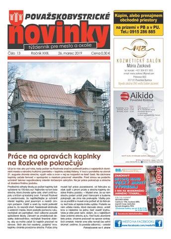 a234549a2f57 Považskobystrické novinky č. 13 2019 by Považskobystrické novinky ...