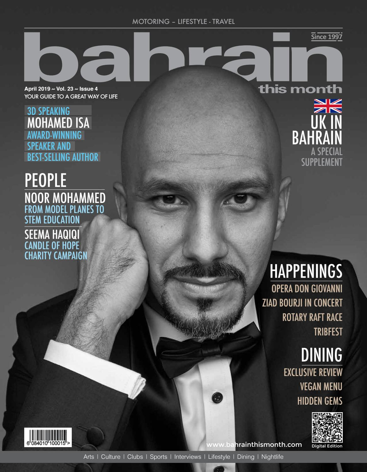 4091f27c9c Bahrain This Month - April 2019 by Red House Marketing - issuu