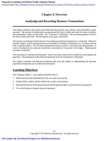 wave accounting manual
